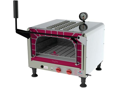 Forno Industrial a Gás GLP Progás 40L - Mini Chef PRP-400G Style